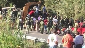 Aumenta a siete la cifra de militares muertos tras volcadura en Oaxaca