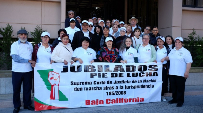 Jubilados Pie de Lucha interpusieron una demanda laboral colectiva.(Pablo Hurtado)