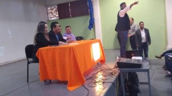 Instalan Operación Mochila en el Cobach 2 de Villa Fontana