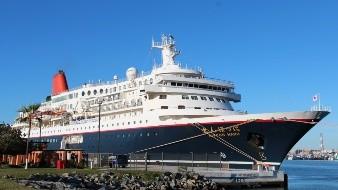 Arriba a Ensenada crucero mundial de la juventud 'Nippon maru'