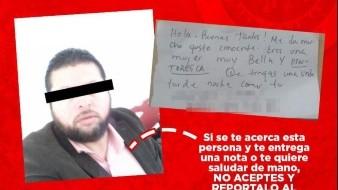 Lo que se sabe del presunto hombre de la nota; SSP Sonora alerta sobre él