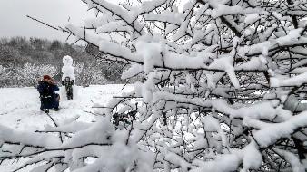 Para gran parte del territorio nacional se pronostica descenso de temperatura, con valores mínimos de -10 a -5 grados Celsius.