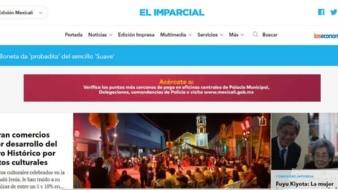 El portal de EL IMPARCIAL cuenta con cuatro ediciones: México, Sonora, Tijuana y Mexicali.