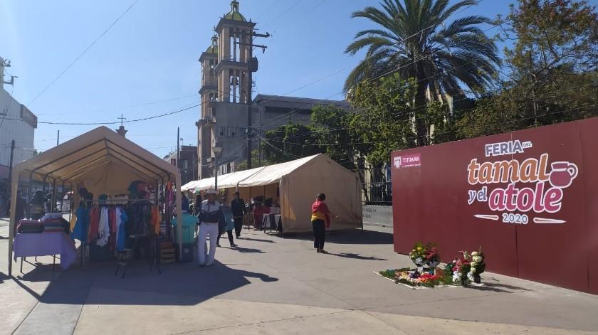 La feria concluye el 2 de febrero, Día de la Candelaria.(Victoria Alvarado)