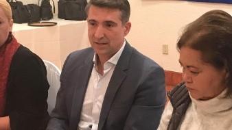 Luis Javier Algorri Franco, subsecretario de migración del Gobierno del Estado, estuvo como invitado en la reunión semanal del Grupo Madrugadores de Rosarito.