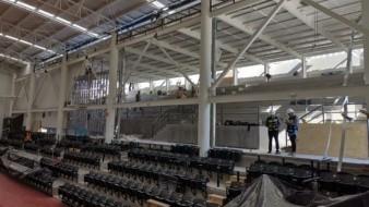 Para otro espectáculo como conciertos, veladas de boxeo u otros la capacidad será de 3 mil 100 asistentes.