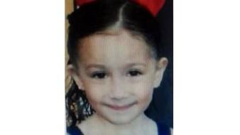Amy Nicole Ortíz Morales tiene 7 años de edad.