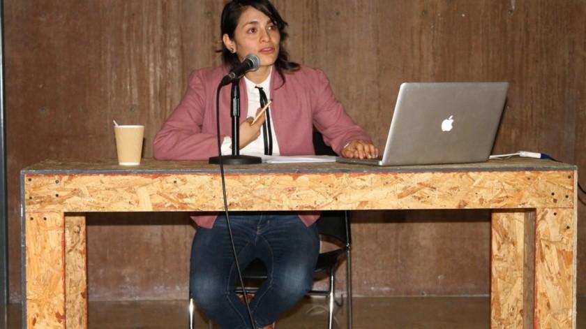 Explica Mariel Miranda concepto de 'penumbra de lo visual' en el Cecut