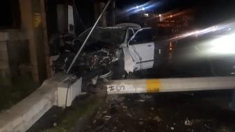 Mujer fallece tras caer transformador encima de vehículo en el que viajaba
