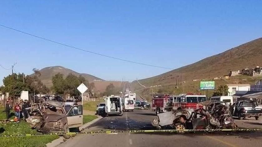 El accidente se registró el pasado sábado en la carretera Transpeninsular.(Archivo)