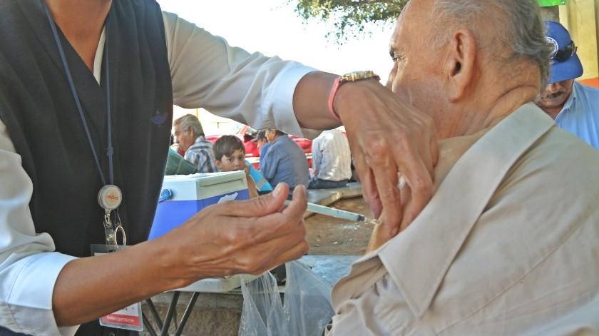 En Sonora se han aplicado más de 532 mil 300 dosis de vacuna contra la influenza.(Banco Digital)