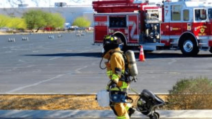 """Evacúan edificios por """"extraño paquete"""" en Yuma(Cortesía)"""