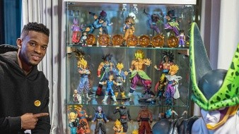 Nélson Semedo presume gran colección de Dragon Ball