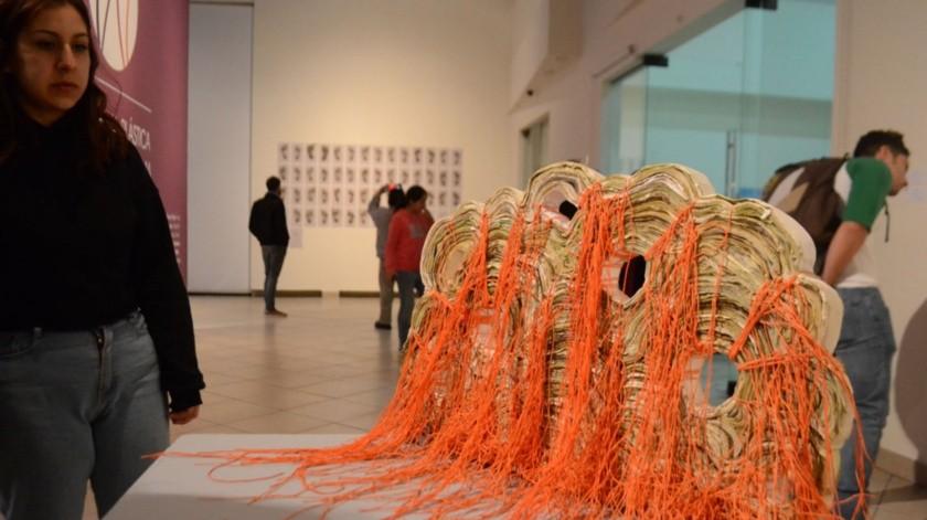 Inauguran bienal plástica y muestra fotográfica en Ceart Ensenada(Cortesía)