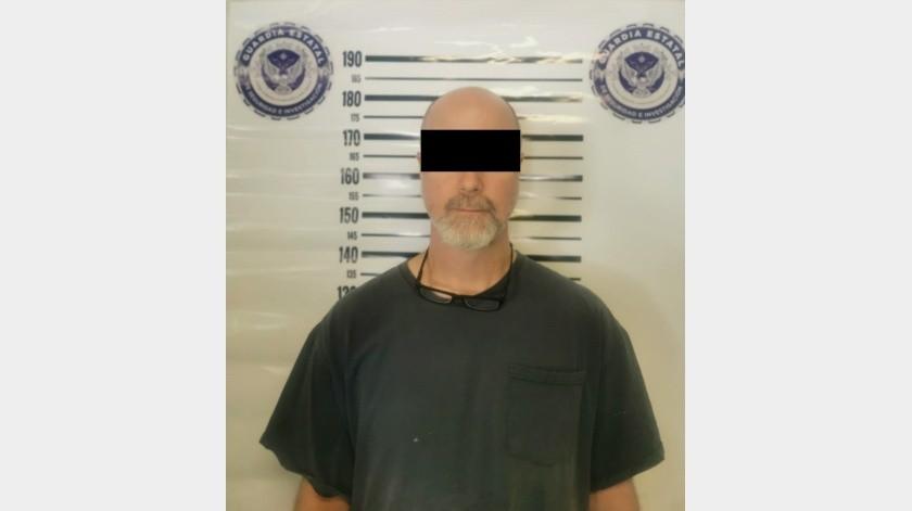 """William """"N"""" permanecia oculto desde hace tres días en la zona conocida comoRenee´s, y fue capturado por la Guardia Estatal(Cortesía)"""