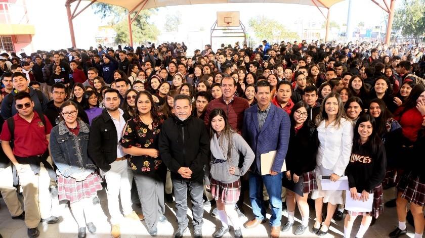 Regresan a clases 151 mil estudiantes de educación media en BC(Cortesía)