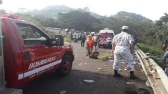 84 migrantes se encuentran hospitalizados tras volcadura: INM