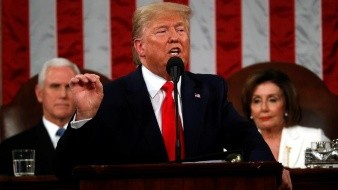Muro fronterizo tendrá más de 800 kilómetros en 2021: Trump