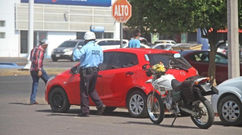Hoy se cumplen cinco días del operativo para detectar vehículos sin placas en Cajeme.(Banco Digital)