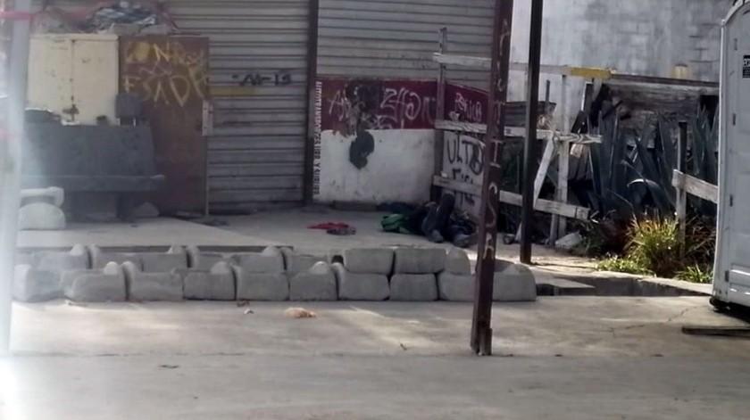 El hallazgo ocurrió en un taller de lavado de camiones en la colonia Camino Verde.(Margarito Martínez)