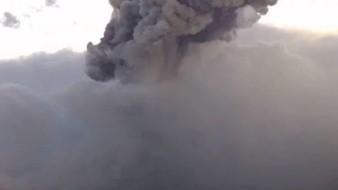 Popocatépetl explota nuevamente; ceniza se dispersa hacia Puebla