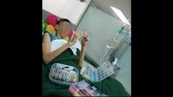 Menor fabrica y vende pulseras para pagar su tratamiento contra el cáncer