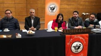 Magaly Ronquillo, titular del Registro Civil, estuvo como invitada a la reunión semanal del Grupo Madrugadores de Tijuana..
