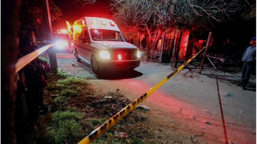 Dos personas lesionadas y un hombre sin vida fue el saldo que dejó un hecho violento, donde testigos registraron al menos 15 detonaciones de arma de fuego(Especial)