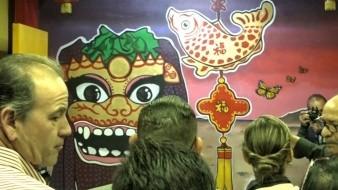 Exponen cultura china en Museo del Bosque