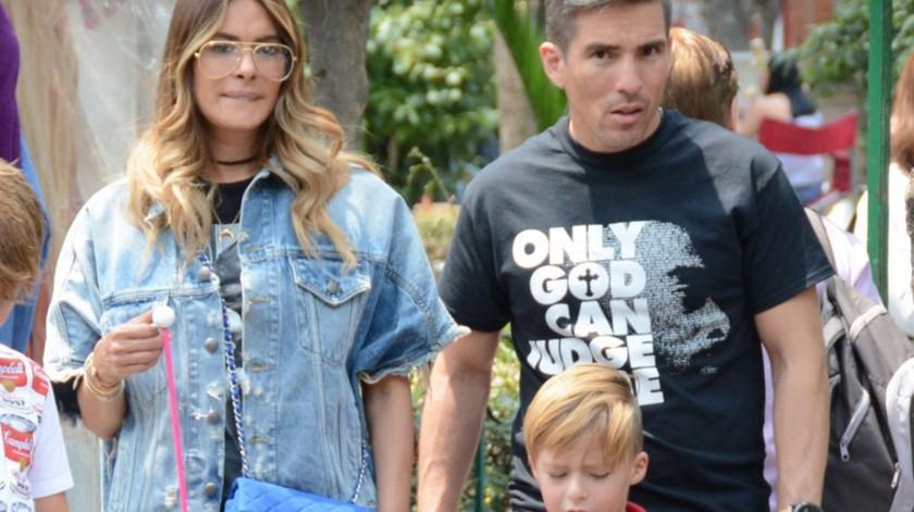 Galilea Montijo y Fernando Reina tienen 8 años de casados.(Agencia México)