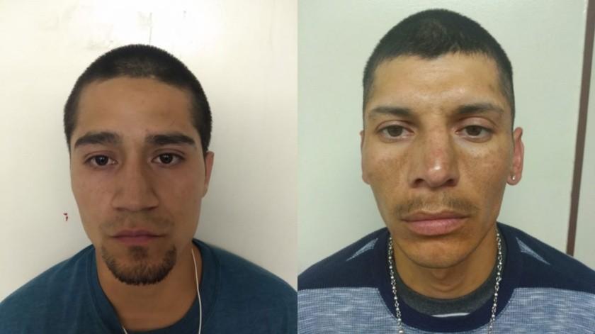 Los sentenciados son Alan Ricardo López Palomino y Edgar Florencio Ruiz Aguilera.(Cortesía)