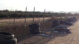 Agricultores rompen pacto al quemar llantas