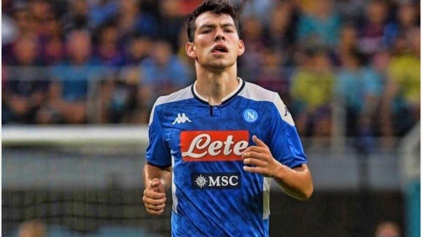 """Reaparece """"Chucky"""" Lozano 15 minutos pero Napoli cae ante Lecce(GH)"""