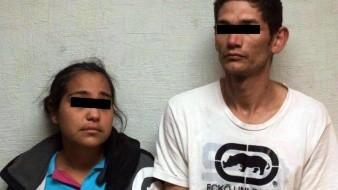 """Cintia Guadalupe """"N."""" y Fernando Iván """"N."""" quedaron a disposición de la autoridad, correspondiente para que proceda de acuerdo con lo establecido en la ley."""
