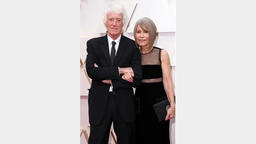 Roger Deakins y Isabella James Purefoy Ellis