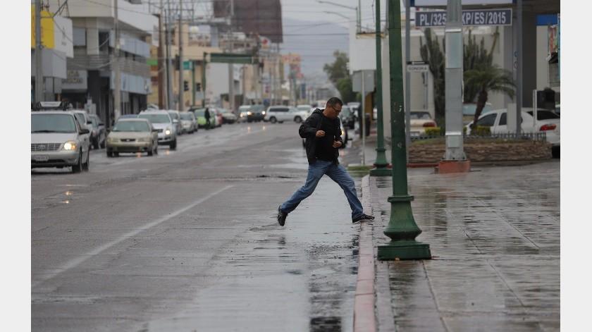 Frío, lluvias, viento y nieve se espera para el Estado.(Anahí Velásquez)