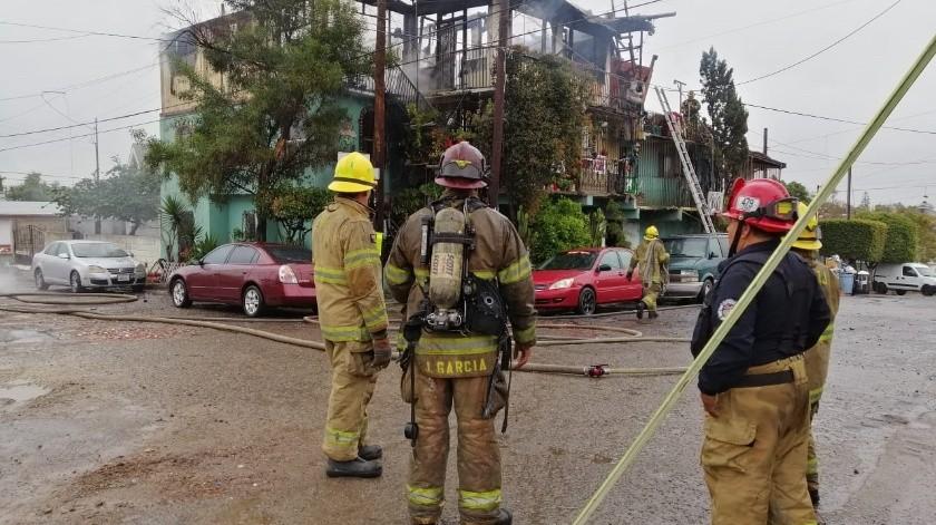 Hasta el momento se desconoce la causa del incendio.(José Ibarra)