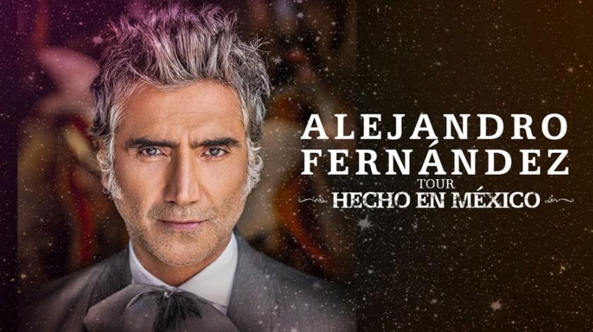Alejandro Fernández se presentará en San Diego, California el sábado 30 de mayo al Viejas Arena.(Cortesía)