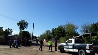 Asesinan a hombre en el patio de una vivienda en Empalme