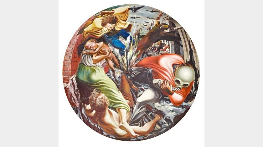 Toman muralistas mexicanos museo de NY(Agencia Reforma)