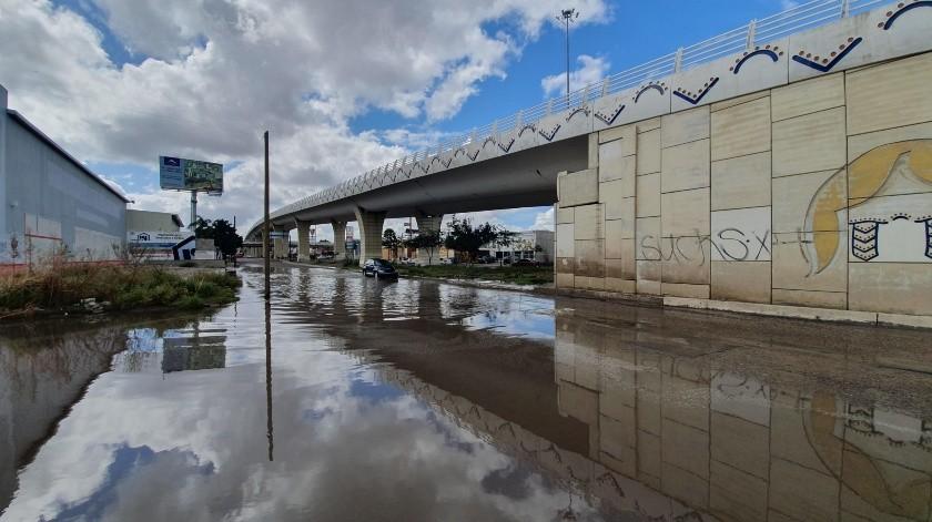 Con cada lluvia se forma una laguna(Gamaliel González)