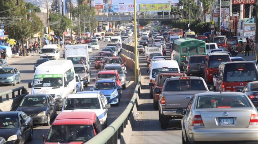 Entre las zonas con mayor congestionamiento vehicular está la 5 y 10.