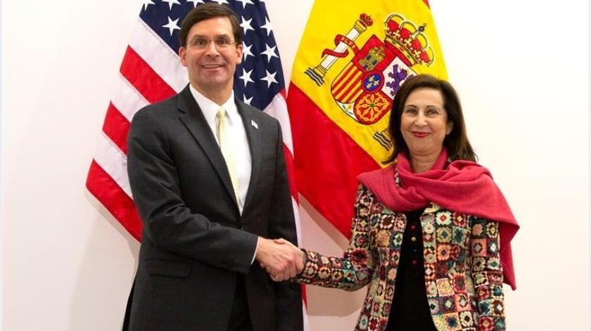 España pide a EU que le quite aranceles por ser socio de la OTAN(EFE)