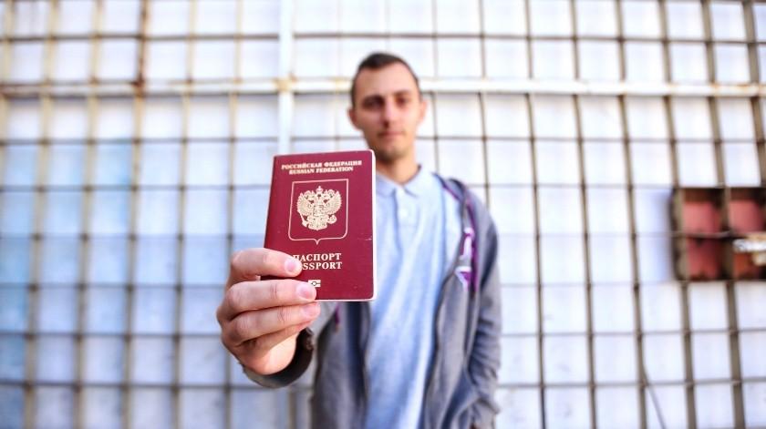 Llegan migrantes de Rusia a Mexicali(Daniel Resendiz)