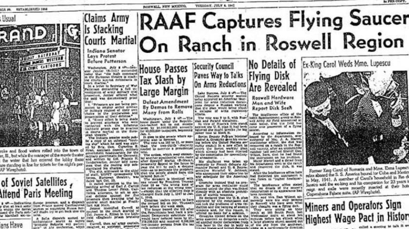 Lo creas o no, pero a pesar de décadas de análisis y teorías, muchos simplemente se niegan a creer la explicación oficial de la Fuerza Aérea.(Roswell Daily Record)