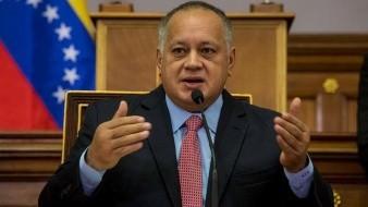 Diosdado Cabello, diregente chavista, reaparece tras casi un mes de padecer Covid-19