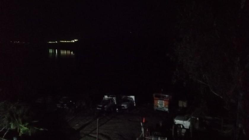 Recuperan cadáver de hombre flotando en la presa de Tijuana