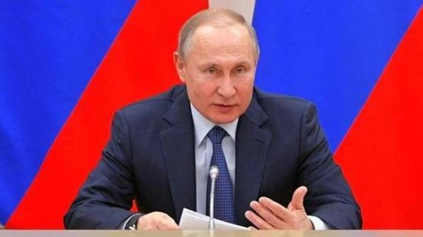 """""""Mientras sea presidente,no habrá matrimonios homosexuales"""": Putin(EFE)"""