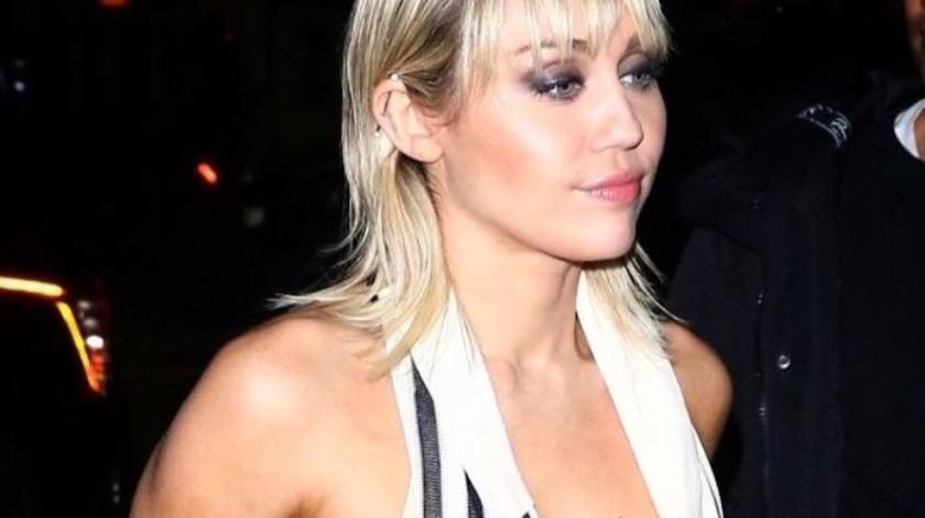 Miley Cyrus tiene 27 años actualmente.(Instagram/Miley Cyrus)