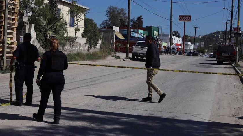El ataque se registró a las 10:20 horas.(Sergio Ortiz)